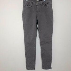 LEVI'S Gray LEGGING JEANS Denim Straight Leg 12/31